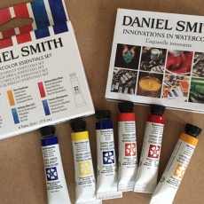 Creating a colour wheels with Daniel Smith Essential Set