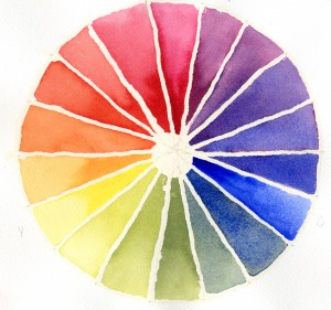 Essential Cool Colour wheel