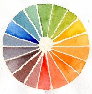 Essential Warm Colour wheel