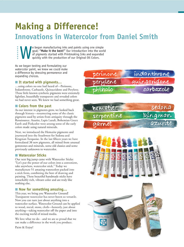 DS Innovations in Watercolor